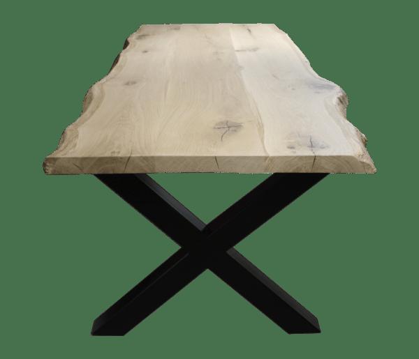 boomstam tafel x poot voorzijde