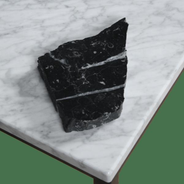 Marmer tafelblad nero