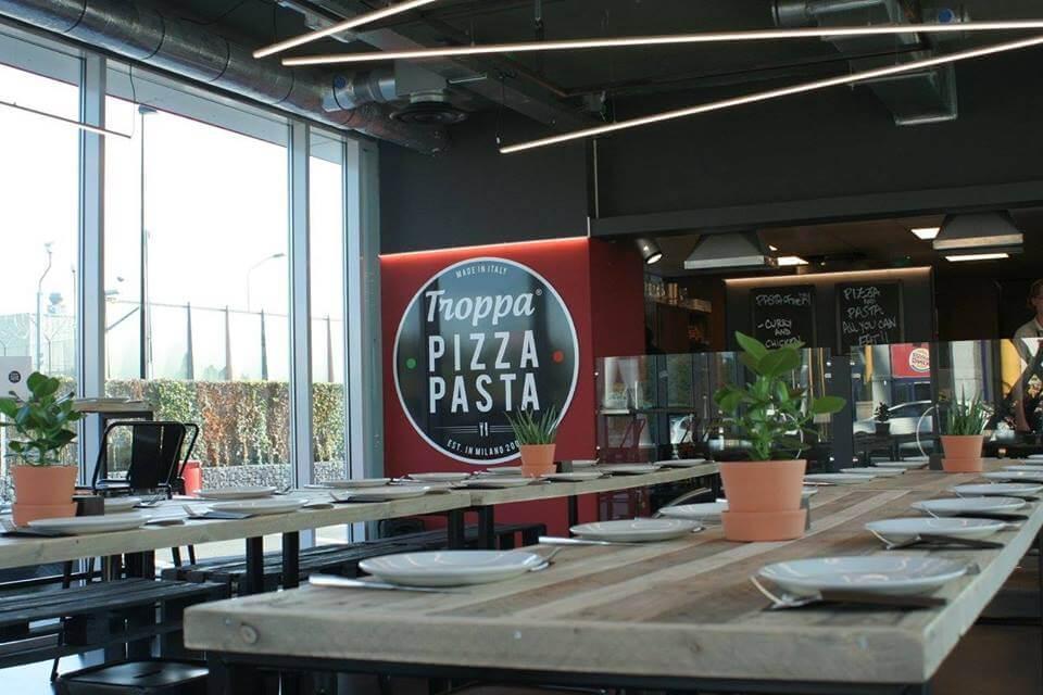 Troppa Pizza Pasta