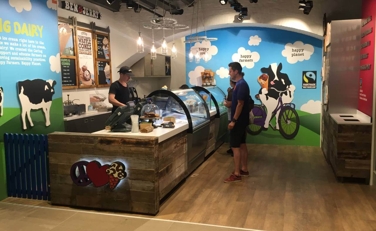 Ben & Jerry's Amsterdam Centraal Station