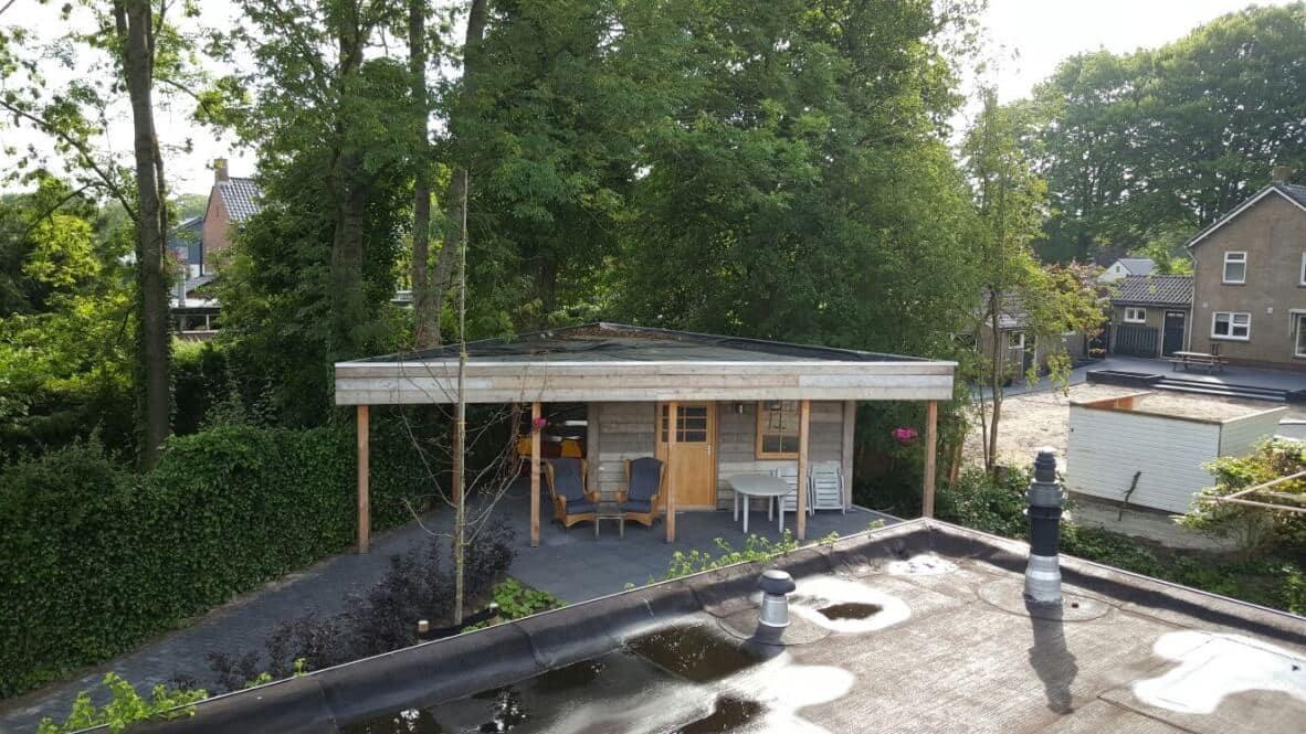Steigerhouten Tuinhuis Joure