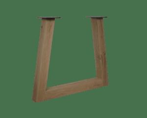 Eikenhouten Trapezium frame