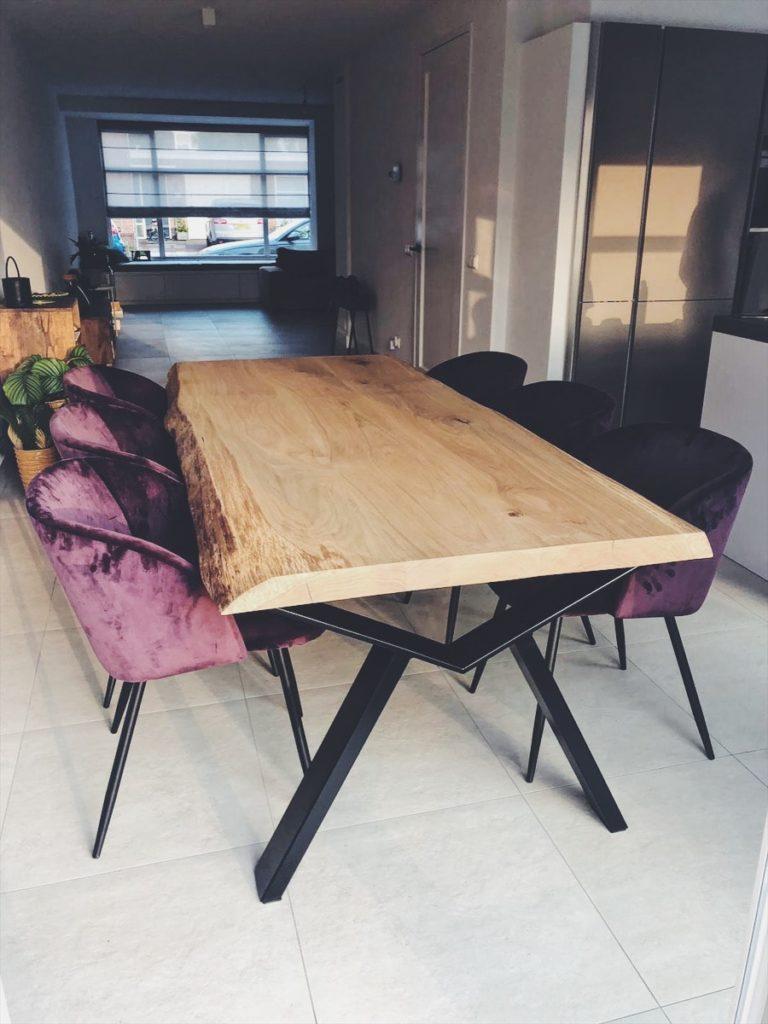 Boomstam tafel