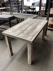 Steigerhout tafel