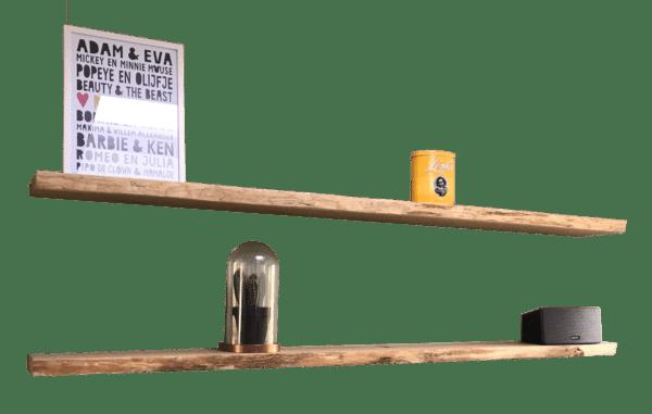 Boomstam wandplank