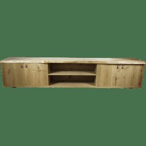 Tv-meubel Rustiek New Oak Boomstam