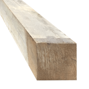 Rustiek eikenhout ruw 15×15
