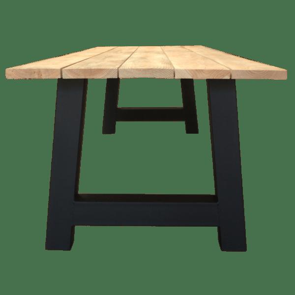 A-frame met douglas planken
