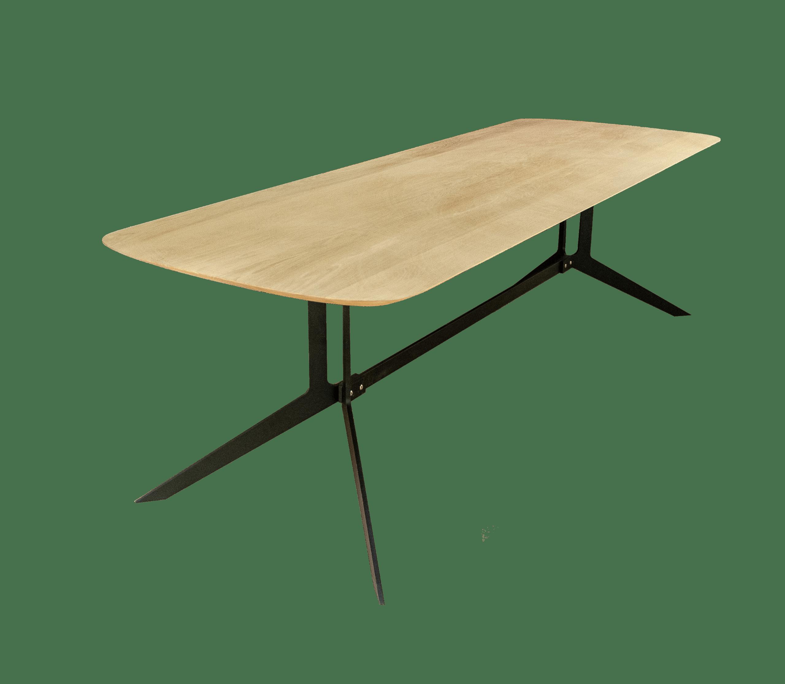Design tafel in eikenhout op maat