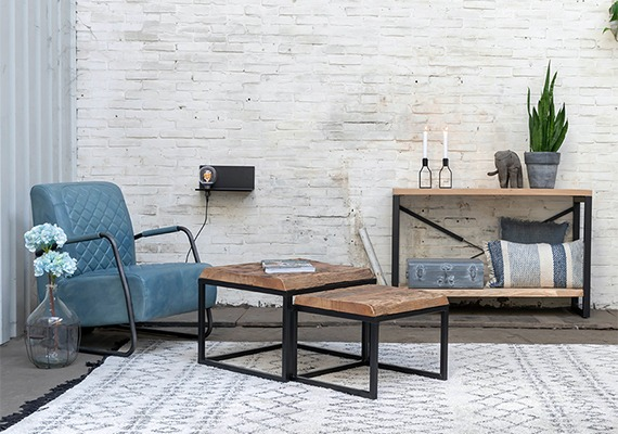 Zwevende salontafel