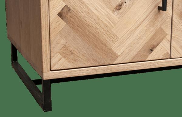 Tv meubel visgraat design