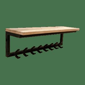 Zwevende kapstok L-frame