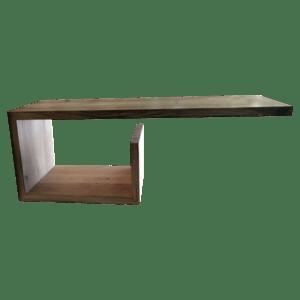 Zwevende badkamer plank
